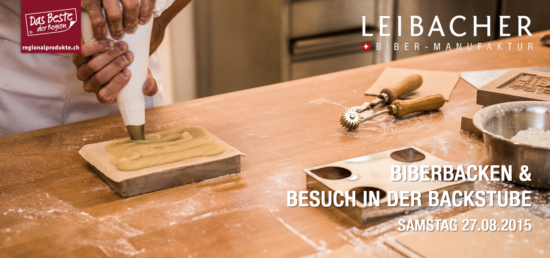 Backkurs Genuss '16 Leibacher Biber-Manufaktur