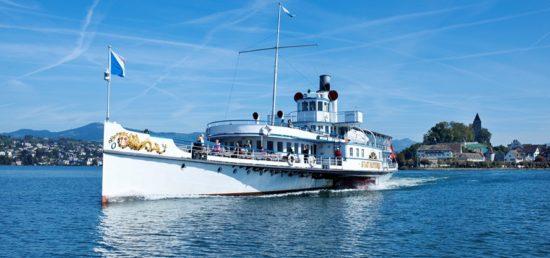 Dampfschiff_Biberli-Schiff Zürichsee Schifffahrtsgesellschaft