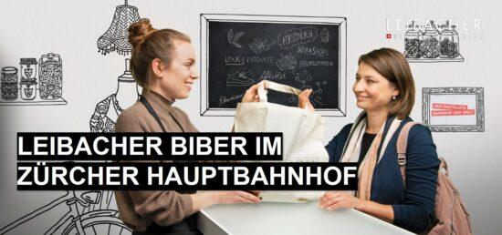 sbb smart emma, leibacher biber am hauptbahnhof