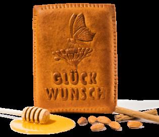 Leibacher Honig-Biber Glückwunsch
